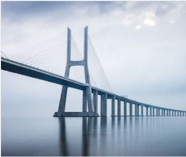 a cable stayed bridge