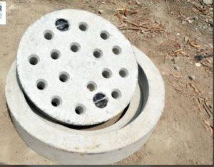 Sewage manhole cover