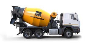 Transit mixer for ready mix concrete