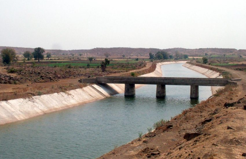 Canal use for irrigation is illustrated here.